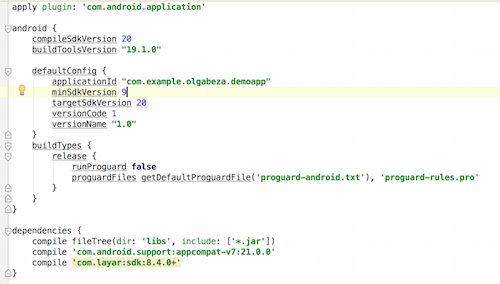 Integrate Android SDK with Android Studio – Layar Developer