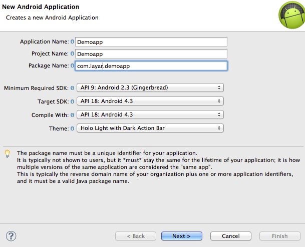 Tutorial - Integrate Android SDK with Eclipse (deprecated) – Layar